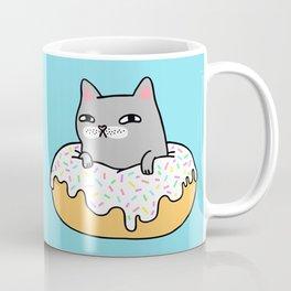 Donut Cat Coffee Mug