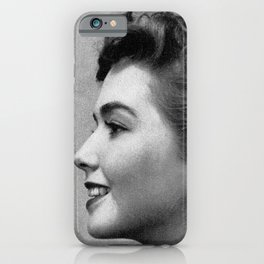 1952 Hair Styles by Kathy Morton Stanion iPhone Case