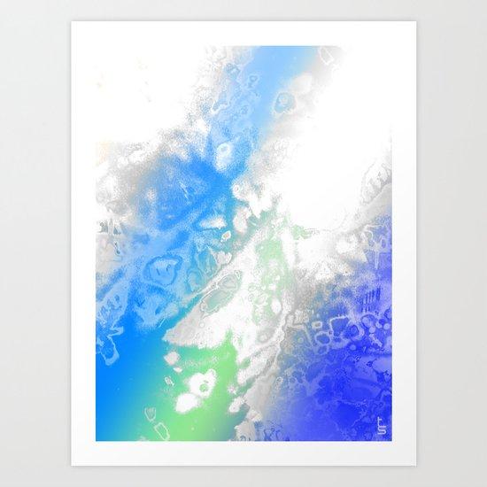 Polar Genesis Art Print