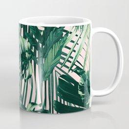Tropical Jungle Leaves Siesta #1 #tropical #decor #art #society6 Coffee Mug