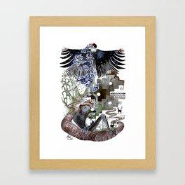 Vidas Framed Art Print
