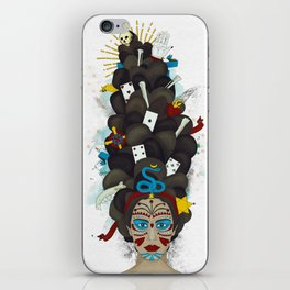 The Voodoo Queen iPhone Skin