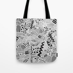 GRAPHic-MoN0T0NE Tote Bag