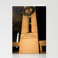 washington dc Stationery Cards featuring Washington DC by GregoryBurgess Photography