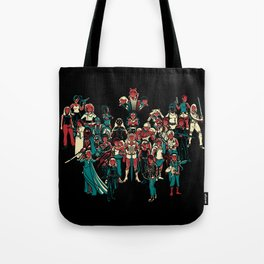 LADY KNIGHTS!! Tote Bag