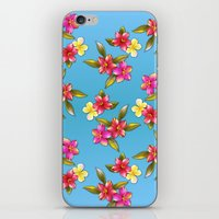 aloha iPhone & iPod Skins featuring Aloha by Joke Vermeer