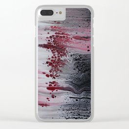 Number 115 Clear iPhone Case