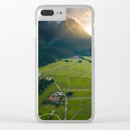 Landscape of Germany Clear iPhone Case