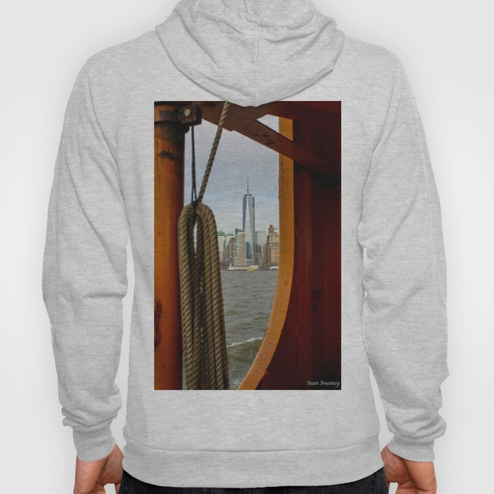 Freedom Tower through The Boat Hoody