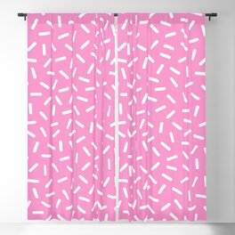 Memphis sprinkles Pattern 124 Blackout Curtain