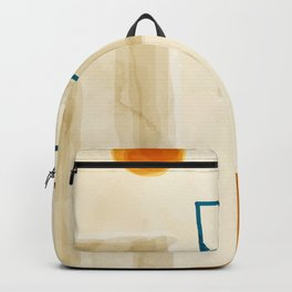 Abstract Minimal Art 01 #minimal Backpack