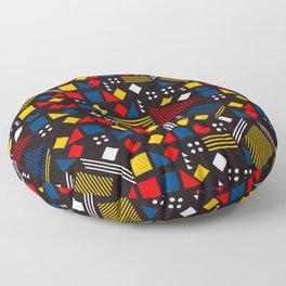pacman pattern Floor Pillow
