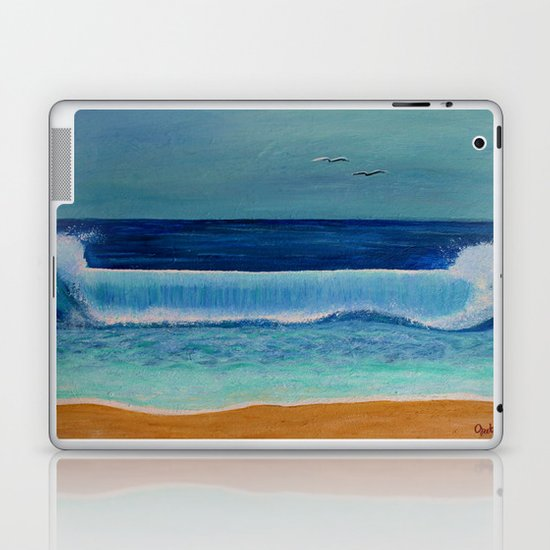 Beach Wave Laptop & iPad Skin