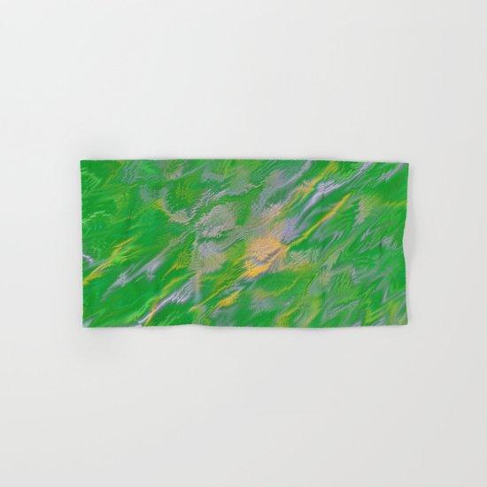 Pearl Green Water Hand & Bath Towel