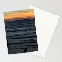 Sunset at Pismo Stationery Cards
