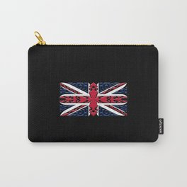 Union Jack British Flag Ornamental Style Carry-All Pouch