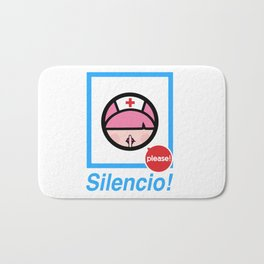 Silencio Please! Bath Mat