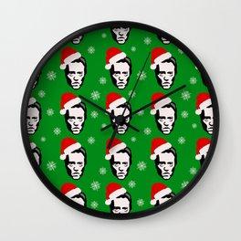 Merry Walken Chris-mas Wall Clock