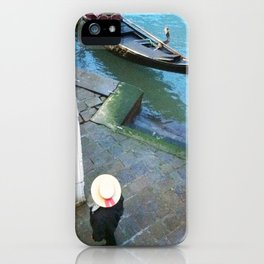 Gondolier iPhone Case