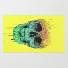 Pop art skull  Rug