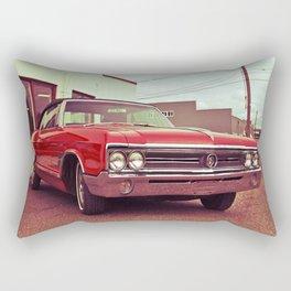 Classic red Buick Rectangular Pillow