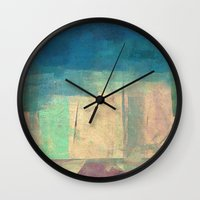 buddhism Wall Clocks featuring गौतम की जागृति (Gautama's Awakening) by Fernando Vieira
