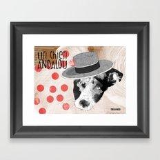 Un chien andalou Framed Art Print