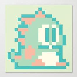 Bubble Bobble Pop - Mint Canvas Print