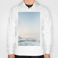 aviation Hoodies featuring Cloudscape by Kristina Jovanova