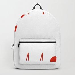 Herzschlag Österreich T-Shirt I Austria Heimat Alpen EKG T-Shirt Backpack