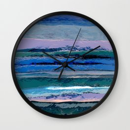 Abstract Composition 628 Wall Clock