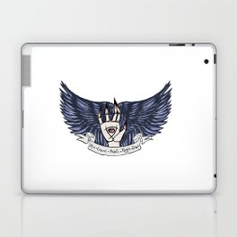 The Raven Cycle Quote Laptop & iPad Skin