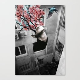 They Return, No Matter What. Canvas Print