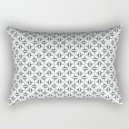 Eryn Blue Collection Rectangular Pillow