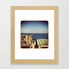 houses mino Framed Art Print