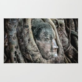 Banyan Tree Buddha Rug