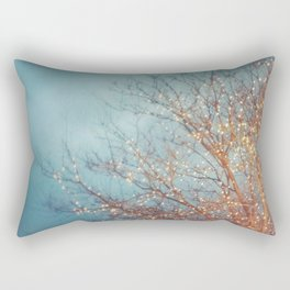December Lights Rectangular Pillow