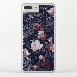 Night Forest XXV Clear iPhone Case