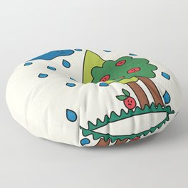The True Reality / Weather Floor Pillow