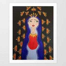 Saint Queen Art Print