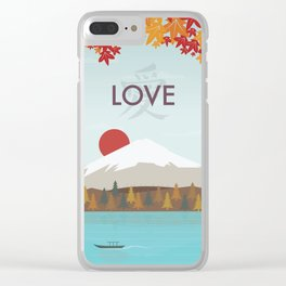 Love (Day) Clear iPhone Case