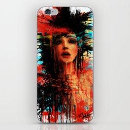 Undefined floating sensation iPhone Skin