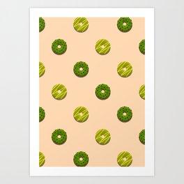 Avo + Pear Art Print