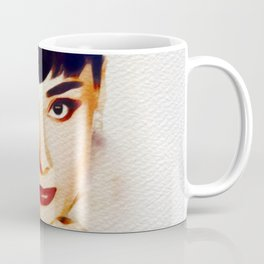 Audrey Hepburn, Hollywood Legend Coffee Mug