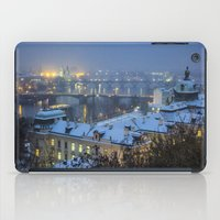 prague iPad Cases featuring Prague 2 by Veronika