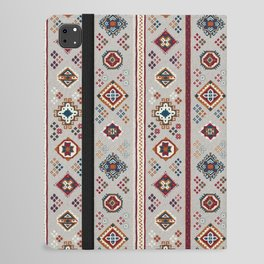 Caucasian Rugs(Stripe) - White iPad Folio Case