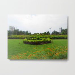 Escape the City Metal Print