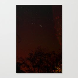 warm stars Canvas Print
