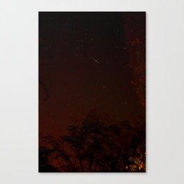 warm stars Canvas Print