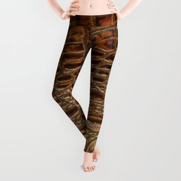 It's A Croc! - Faux (2D) Crocodile Hide Leggings